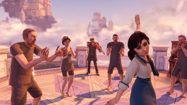 "The most memorable moments in ""BioShock Infinite"" come in the quiet interludes between gunbattles."
